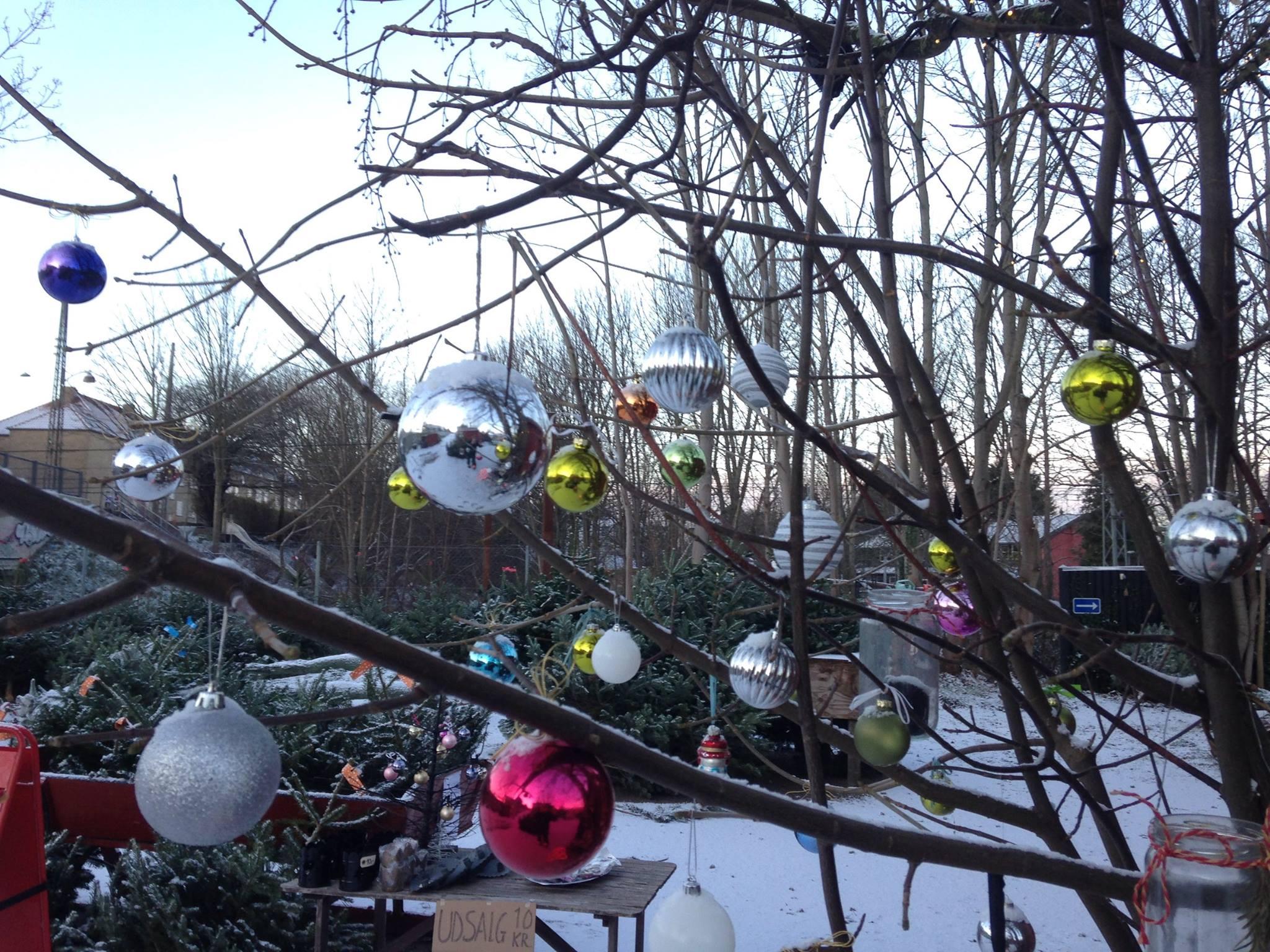 Julemarked i Københavnstrup.